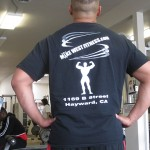 Men's Black t-shirt (Logo on back of shirt)